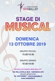 STAGE DI MUSICAL!!!